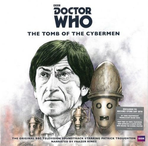 Doctor Who - The Tomb Of The Cybermen Vinyl Record LP Demon 2018 Silver Vinyl